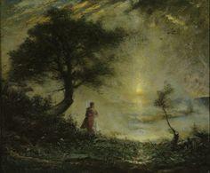 Elliott Daingerfield (1859-1932), Landscape - 1918