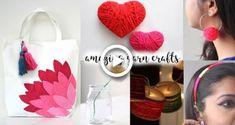 6 Truly Fascinating Ideas With Yarn Easy Yarn Crafts, Yarn Crafts For Kids, Diy Crafts, Diy Yarn Orbs, Yarn Friendship Bracelets, How To Make Balloon, Wall Hanging Crafts, Diy Tassel, Flower Crafts