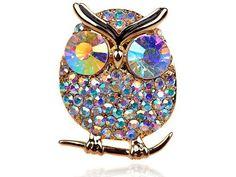 Brilliant Big Eye Fun Crystal Auorore Boreale Cougar Gold Tone Hooting Owl Ring Alilang, http://www.amazon.com/dp/B004FRRGGU/ref=cm_sw_r_pi_dp_9iWfrb0SRA641