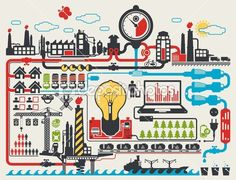 factory illustration - Google Search