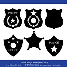 Police Shield, Police Flag, Police Officer Gifts, American Logo, Ombre Paint, Badge Template, Wood Burning Patterns, Tatoo Art, Silhouette Studio