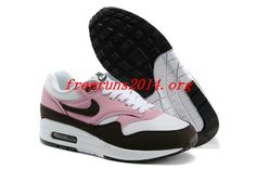 7j5757 Pink Cooler Red Mahagony White Gym Red Nike Air Max 1 Womens Shoes #like #like
