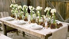7 Winter Tablescapes we Love - Ces & Judy's Catering