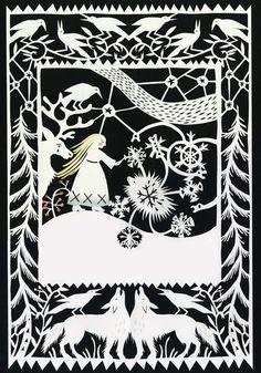 Resultado de imagen de snow queen christian hans andersen
