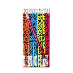 Kids' Colored Pencils - Fun Express Neon Safari Animal Print Pencils 2 Dozen >>> Find out more about the great product at the image link.