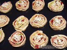 Sushi, Muffin, Food And Drink, Pizza, Eat, Cooking, Breakfast, Ethnic Recipes, Finger Food