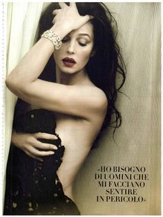 extrasexy: Monica Bellucci By Norman Jean Roy for Vanity Fair Espana February 2013