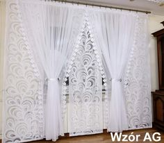Ruffle Curtains, Home Curtains, Valance, Curtain Styles, Curtain Designs, Drawing Room Interior Design, Farmhouse Window Treatments, Dining Room Windows, Types Of Curtains