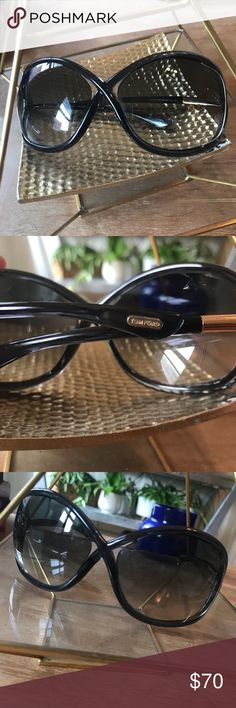 Tom Ford Whitney Sunglasses oversized deep blue 100% authentic Tom Ford Whitney sunglasses. Oversized frames in a deep blue with gradient lenses. Condition: good. A few light/minor scratches  Does not come with case. Tom Ford Accessories Sunglasses