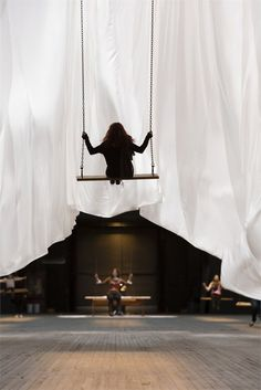 Park Avenue Armory has commissioned artist Ann Hamilton to create a new installation: The Event of a Thread, New York, 2012