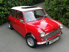 British Mini Cooper / The original design became a true British icon, influencing a generation of car designers, and was revolutionary at the time. Its distinctively diminutive contours remain hugely popular today.
