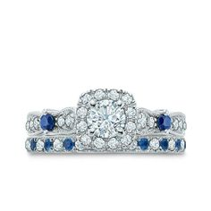 Vera Wang Sapphire engagement ring. Perfection :)