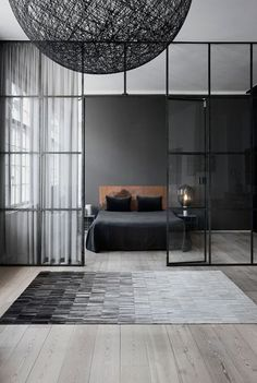 40 Best Bedroom Interior Design You Will Love to Makeover Your Home! Awesome Design Ideas for Your Bedroom. Try this beautifulgreat design ideas. Home Interior, Modern Interior Design, Interior Design Inspiration, Interior Architecture, Bedroom Inspiration, Color Inspiration, Minimal Architecture, Interior Colors, Bohemian Interior