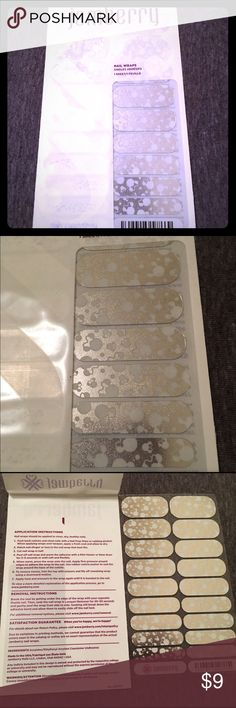 Brand new Disney Jamberry Nail Wraps -RETIRED °o° These adorable Disney Jamberry Wraps are now retired. I over-ordered and already have 2 sheets of these. They are shimmery silver with Minnie ears and dots. Jamberry Makeup