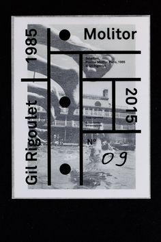 the (m) éditions - Molitor - Gil Rigoulet - Les Graphiquants