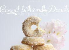 Loves Food, Loves to Eat: Baked Coconut Buttermilk Donuts with Ginger Glaze