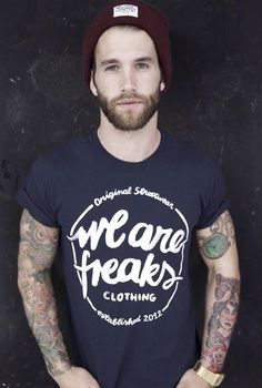 Andre Hamann: Tattoo Lust: Beards & Tattoos IX | Fonda LaShay // Design → more on fondalashay.com/blog