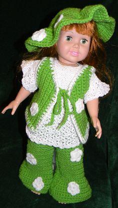 """Hippy Wardrobe for 18"""" Dolls"""