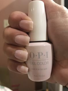OPI Love is in the Bare | 5 coats | mid June
