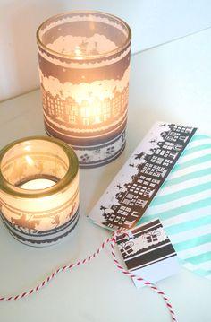 Download hier gratis Sinterklaas Deco om pakjes te versieren of je eigen Sinterklaas lichtje te maken! Maak pakjesavond nog mooier