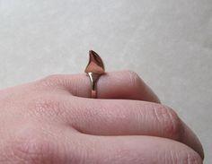 SHARK WEEK SPECIAL Bronze Shark Fin Ring