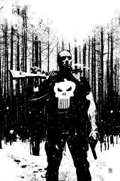 Punisher #45 by Tim Bradstreet (US)