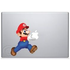 super mario brothers apple macbook decal sticker at amazon