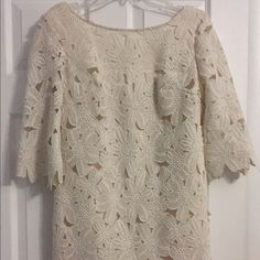Ark & Co. Cream colored lace mini Worn twice, great condition Ark & Co Dresses Mini