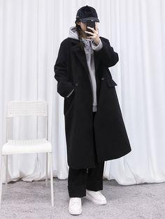 마리쉬♥패션 트렌드북! Korean Girl Fashion, Korean Fashion Trends, Korean Street Fashion, Ulzzang Fashion, Korea Fashion, Asian Fashion, Korea Winter Fashion, Moda Outfits, Kpop Outfits