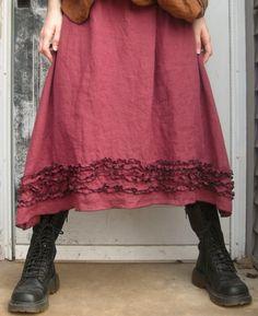 Mini Ruffle Skirt - Sarah Clemens