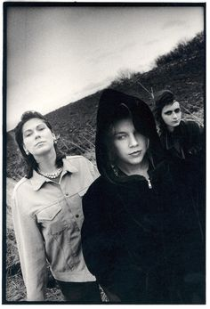 The Breeders en 1990: Kim Deal, Tanya Donelly and Josephine Wiggs.