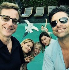 There Was A Full House Reunion To Celebrate John Stamos' Birthday