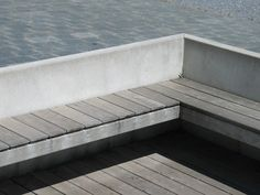 Concrete & timber seat