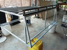 Checking if the roofrail fits prfectly. Truck Caps, Canopy Frame, Tags, Mailing Labels