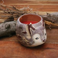 Fox Cinnamon Chai Medium Woodwick Premium Scented Candle