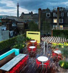 Balcone, Veranda & Terrazzo in stile  di Biotecture