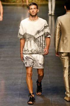 Dolce & Gabbana Menswear Spring Summer 2014 Milan - NOWFASHION