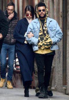 Selena Gomez and Abel Tesfaye (The Weeknd)