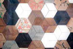 DIY : parquet peint façon presque carreaux de ciment