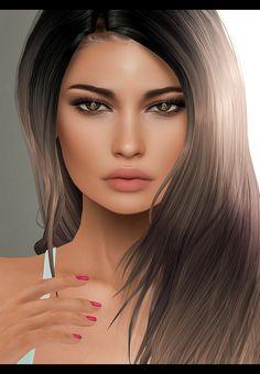 Digital art girl, arte digital, second life avatar, female avatar, life paint Digital Art Girl, Digital Portrait, Portrait Art, Second Life Avatar, Virtual Girl, Belle Silhouette, Beautiful Fantasy Art, Illustration Girl, Fantasy Girl