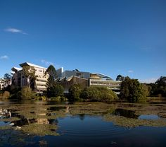 Advanced Engineering Building at University of Queensland in Brisbane by Richard Kirk Architect + Hassell