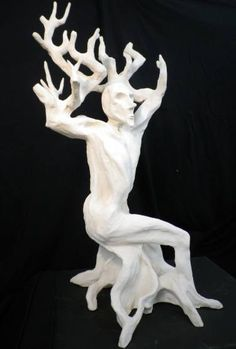 "Saatchi Art Artist Erika B; Sculpture, ""treeman"" #art"