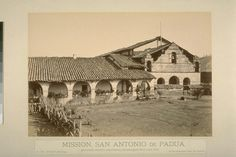 Mission San Antonio de Padua, Founded July Fun Fact: First Mission to produce clay roof tiles. California Missions, Moving To California, Carleton Watkins, Washington State History, Clay Roof Tiles, Google Art Project, Cali Girl, Monterey County, Art Google