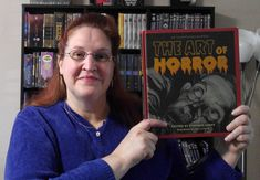 """Travel Reads: """"The Art of Horror"""" by Stephen Jones Stephen Jones, Reading Art, Tv Reviews, Book Review, Science Fiction, Horror, Fans, Travel, Sci Fi"""