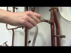 How to Repressurise a Heating System with an External Filling Hose
