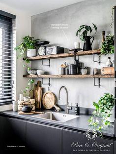 Modern Kitchen Interior Vintage Kitchen Design and Decor Ideas. Küchen Design, House Design, Design Ideas, Modern Design, Design Inspiration, Interior Design, Diy Home Decor, Room Decor, Vintage Industrial Decor