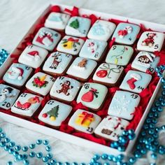 Gingerbread Advent Calendar – Valentine's Day Christmas Cookies Packaging, Cookie Packaging, Christmas Sugar Cookies, Christmas Cupcakes, Christmas Gingerbread, Noel Christmas, Holiday Cookies, Christmas Treats, Christmas Baking