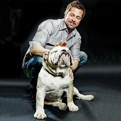 Check out famous bulldogs and their famous owners!