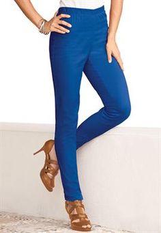 Plus Size Tall Stretch Straight Leg Leggings