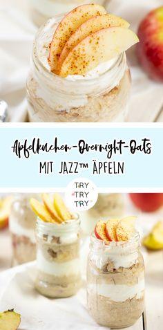 Apfelkuchen-Overnight-Oats mit JAZZ™ Äpfeln